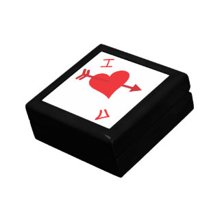 Graffiti Love - Valentines Day Jewelry Box