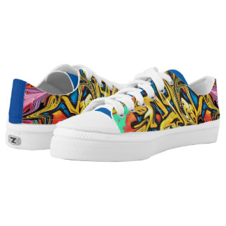 Graffiti Low-Top Sneakers