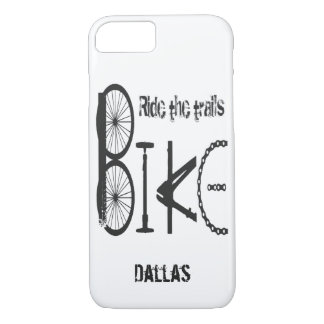 Graffiti made from Bike Parts with Tire Tracks Case-Mate iPhone Case