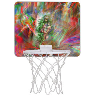 Graffiti Madonna basketball Hoop