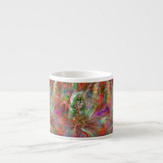 Graffiti Madonna Espresso Mug