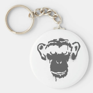 Graffiti Monkey Keychain
