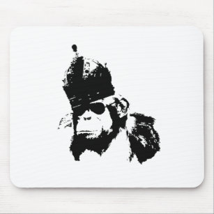 Graffiti Monkey King Mouse Pad