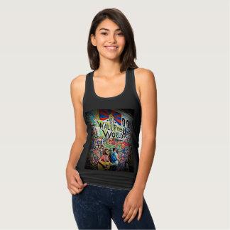 Graffiti Musicians Wall Digital Art Shirt