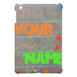 Graffiti on Brick Cover For The iPad Mini
