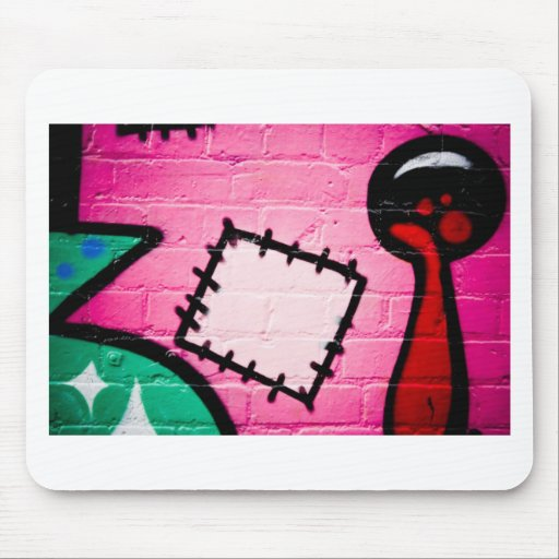Graffiti Patch and Lolly. Mousepad