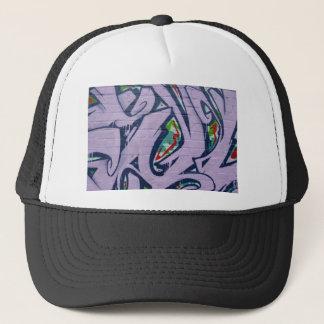 Graffiti Pattern Art Painting Colorful Wall Trucker Hat