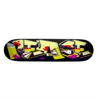 Graffiti Peace skateboard deck