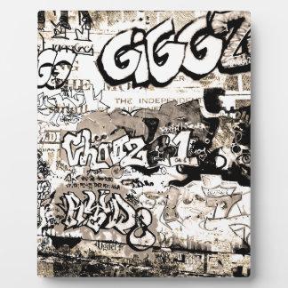Graffiti Plaque