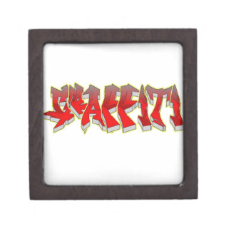 Graffiti Premium Jewelry Box