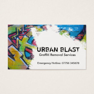 Graffiti Removal Business Card