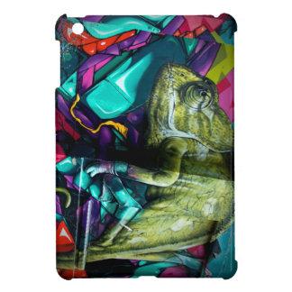 Graffiti reptile iPad mini cover