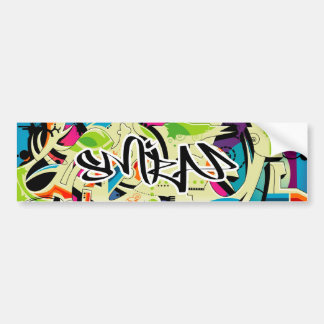 Graffiti Salad Bumper Sticker