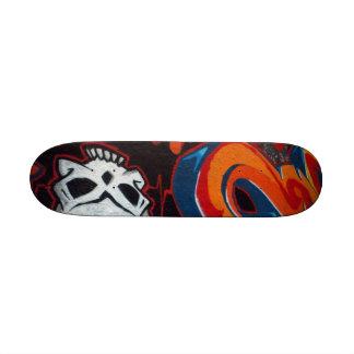 Graffiti Skull Skateboard