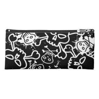 Graffiti skulls pencil case