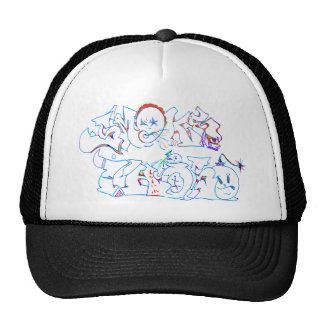 Graffiti Smoke This Trucker Hat