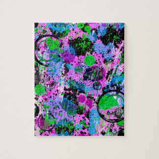 Graffiti Smoothie Jigsaw Puzzle