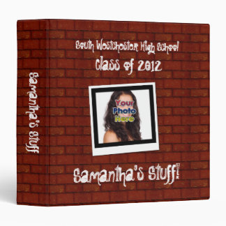 Graffiti Snapshot Photo School Binder