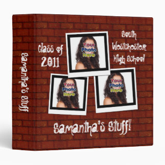 Graffiti Snapshot Photo School Binder