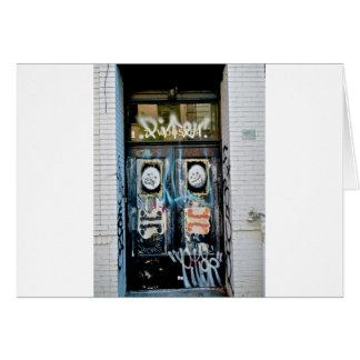 Graffiti- SOHO NYC Greeting Card