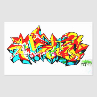 GRAFFITI STICKER BY NYC NJ LEGEND METRO ONE FBA!!!