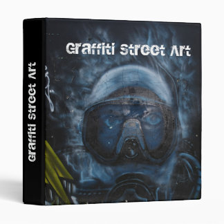 Graffiti Street Art 3 Ring Binder