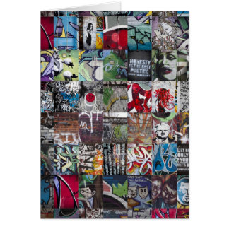 Graffiti & Street Art Card