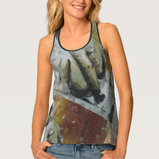 Graffiti Street Art Child Tank Top
