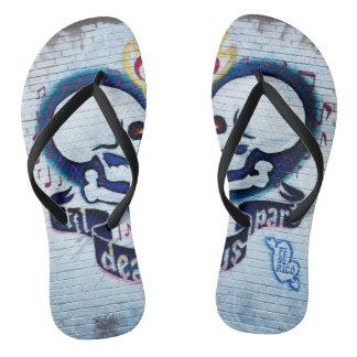 Graffiti Style 6 Flip Flops