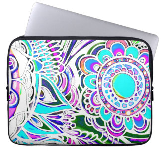 Graffiti Sun Burst Water Resistant Laptop Sleeve