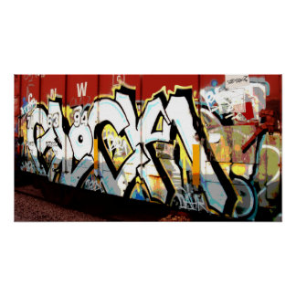 GRAFFITI TAGGING POSTER