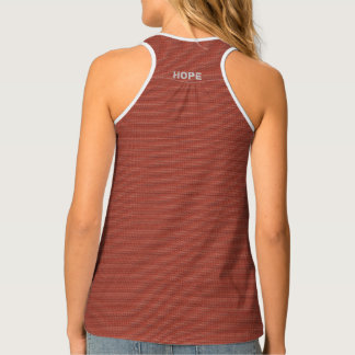 Graffiti Top with Changeable Messaging Tank Top