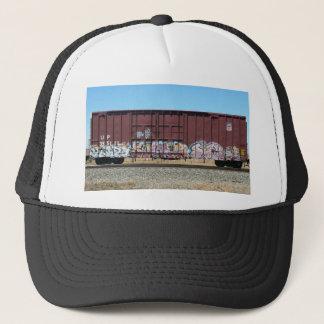 Graffiti Train - Rust Freight Train Trucker Hat
