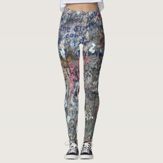Graffiti  Tree Art Leggings