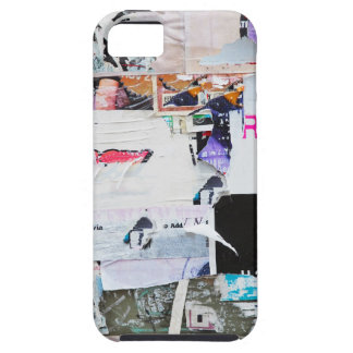Graffiti Wall Banksy Style Torn Paper iPhone 5 Case