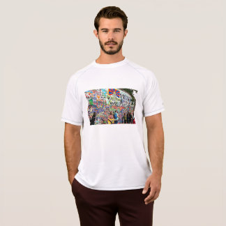Graffiti Wall Men's Digital Art Shirt