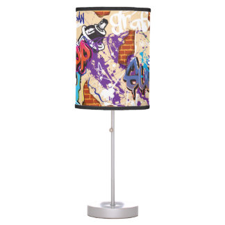 Graffiti Wall Table Lamp