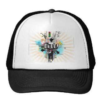 graffiti-wallpaper-27 trucker hat