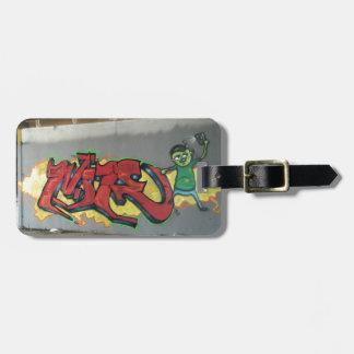 Graffiti Wildstyle Luggage Tag