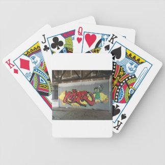 Graffiti Wildstyle Poker Deck