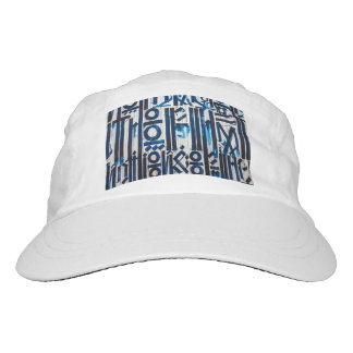 Graffiti Woven Hat for Women