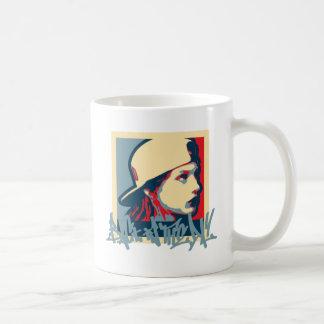 Graffiti Writer Hiphop Vintage Oldschool Art Crime Coffee Mug