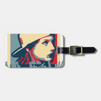 Graffiti Writer Hiphop Vintage Oldschool Art Crime Luggage Tag