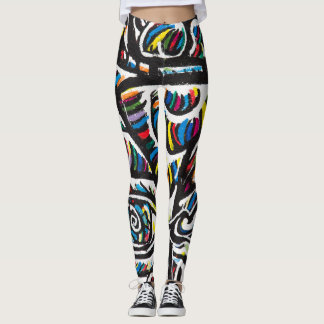 Graffitti Art Leggings