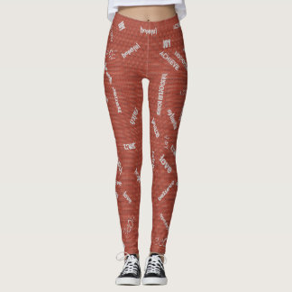 Grafitti Leggings for Encouragement