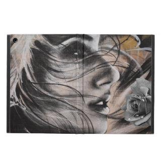 Grafitti woman Ipad case