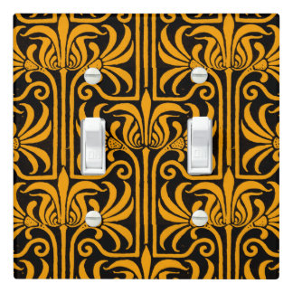 Grafton Amber Light Switch Cover