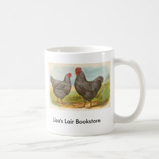 Graham - Barred Plymouth Rocks Chickens Promo Coffee Mug