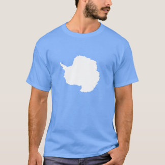 Graham Bartram Antarctica flag blue white T-Shirt