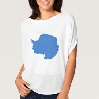 Graham Bartram Antarctica flag blue white yoga T-Shirt